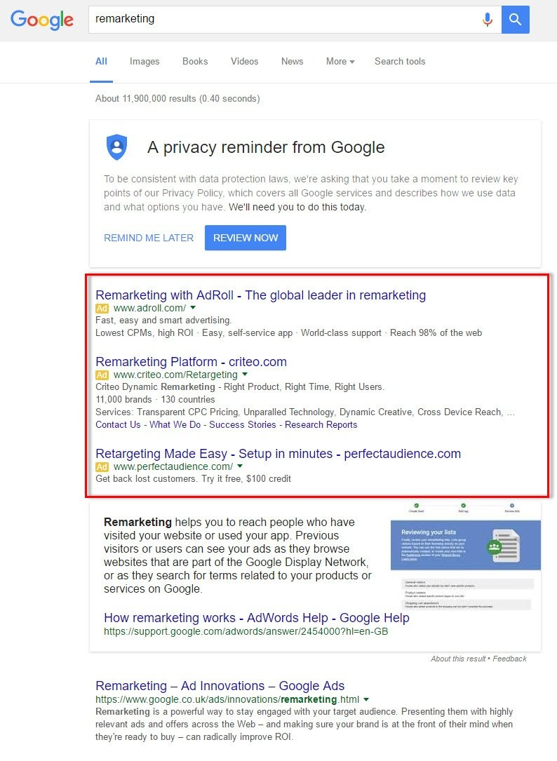 Pharma Sales And Marketing Using Google AdWords Remarketing