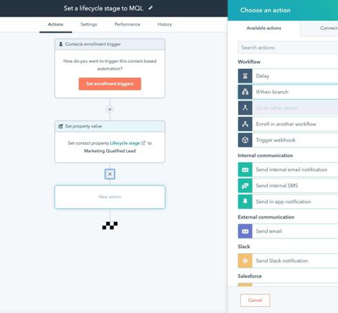 Marketing Hub Enterprise Workflow Updates