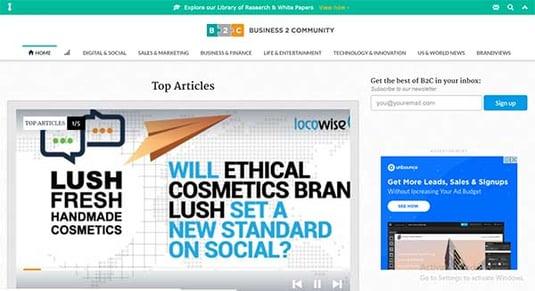 business community digital marketing blog