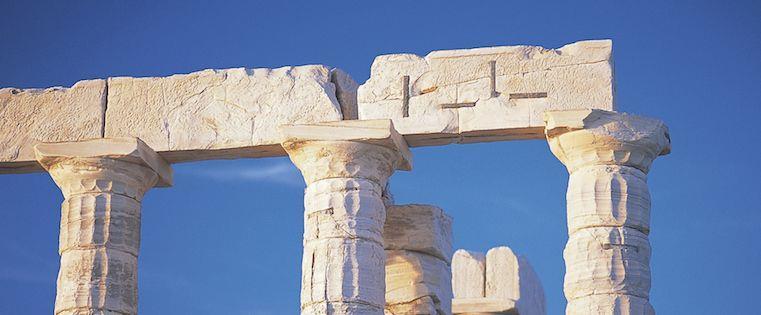 Image of three pillars