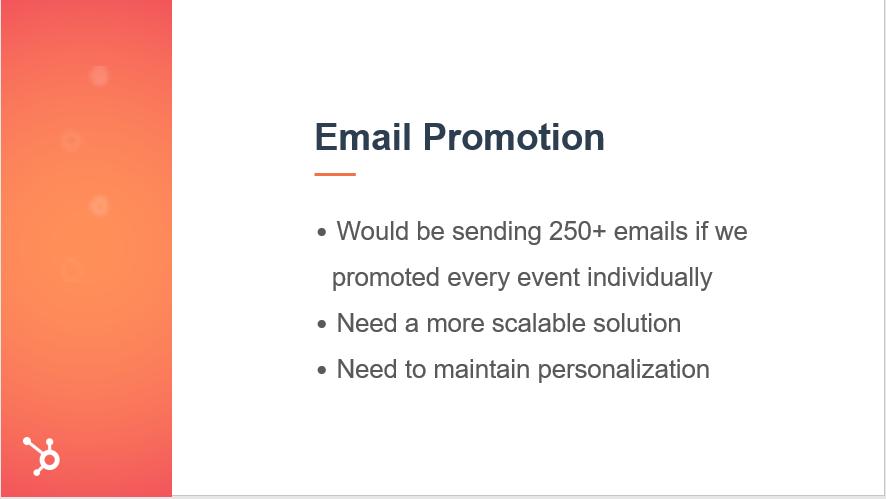 e mail promotion