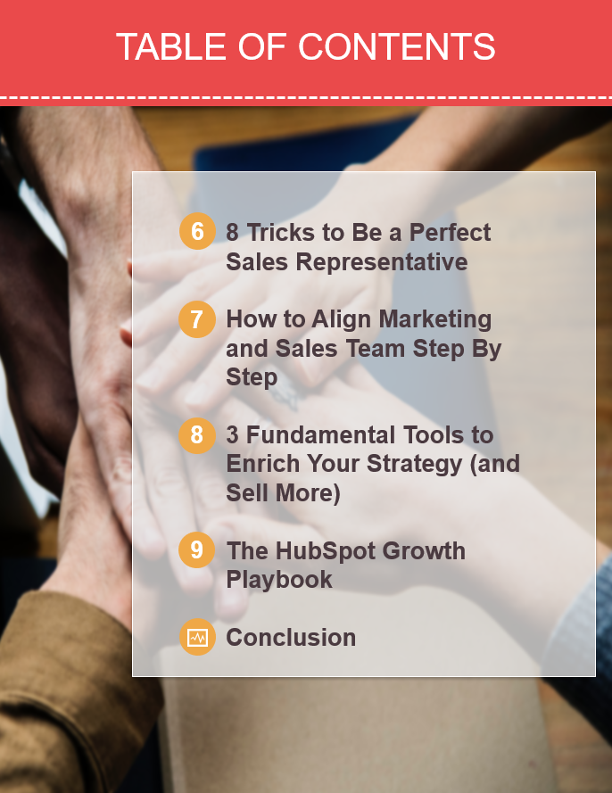 eBook How to Align Sales and Marketing Teams - Index2