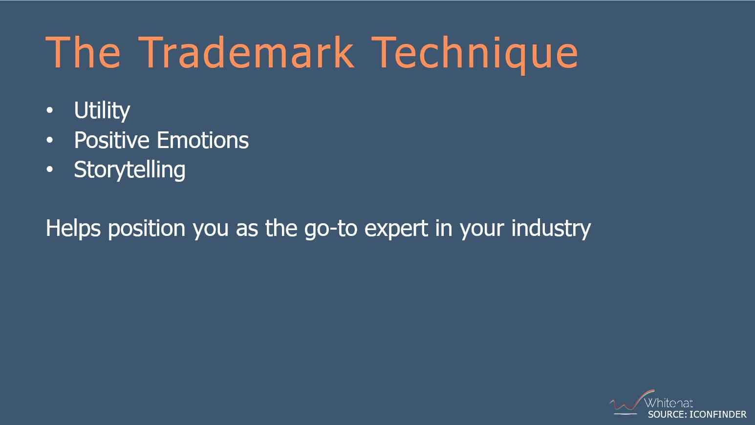 the SEO trademark technique