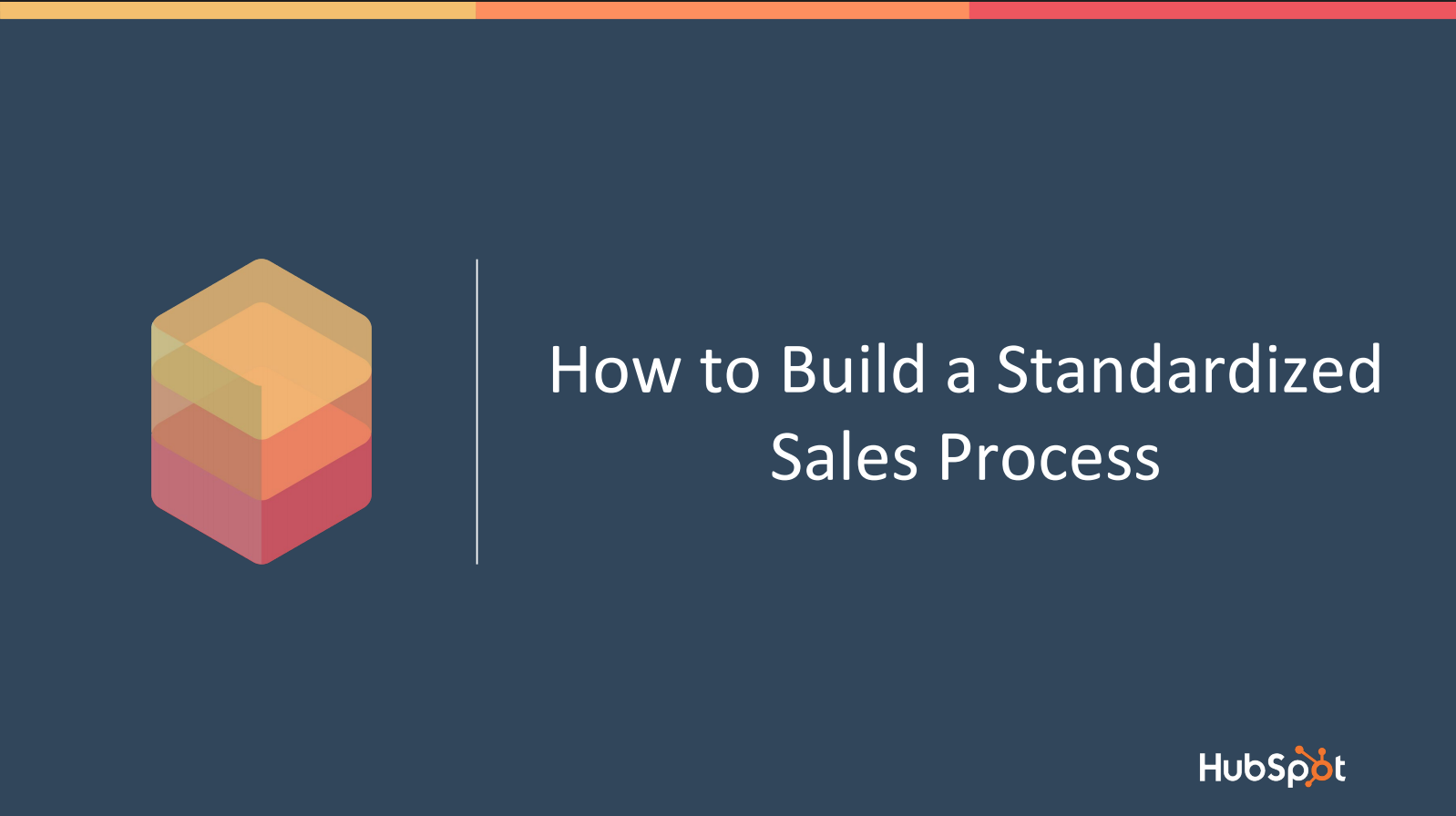 How To Build A Standardised Sales Process