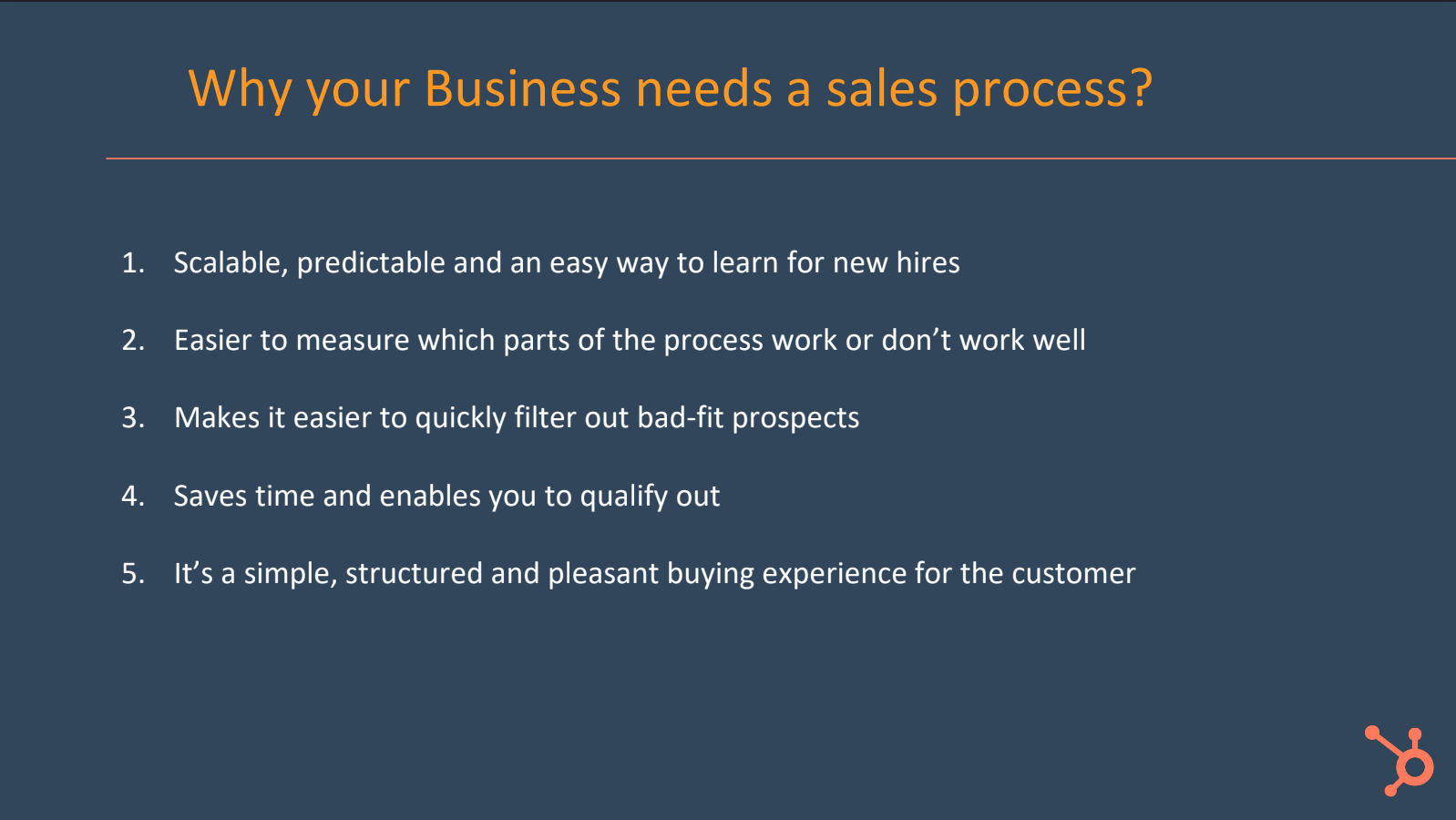 Why your business needs a sales process