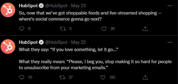 Social-feed-HubSpot